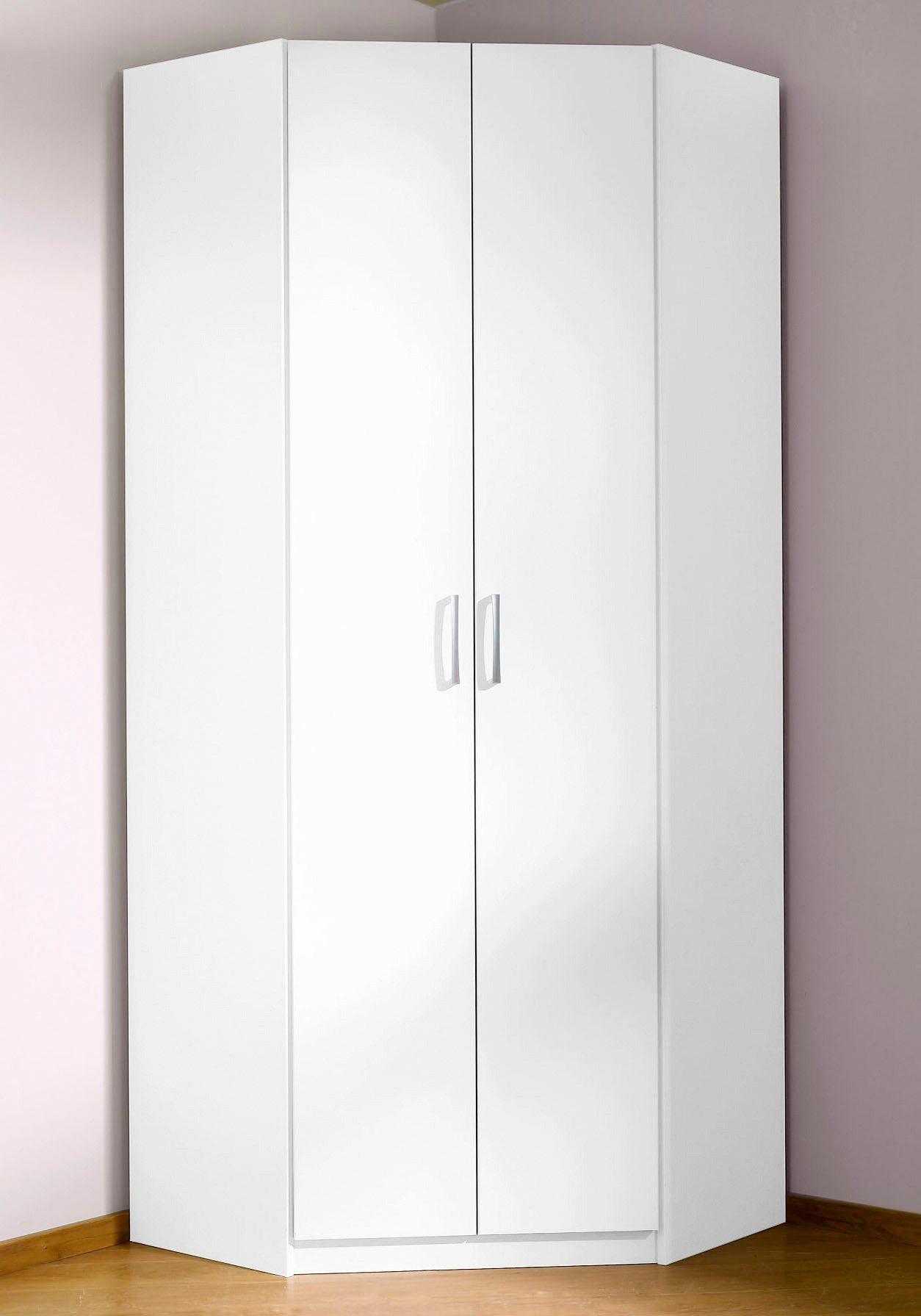 Eckkleiderschrank »Pamplona« | Schlafzimmer > Kleiderschränke > Drehtürenschränke