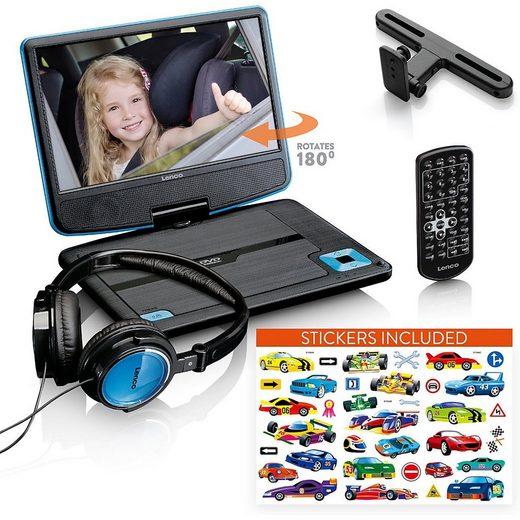"Lenco »DVP-920BU - tragbarer 9"" DVD-Player mit« DVD-Player"