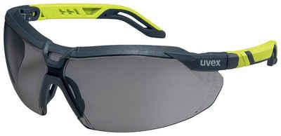 Uvex Arbeitsschutzbrille »uvex Schutzbrille i-5 anthrazit/lime«