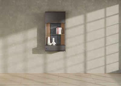 set one by Musterring Vitrine »TACOMA« Typ 21/22, Höhe 126,4 cm, mit getönter Glastür