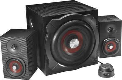 Speedlink GRAVITY CARBON 2.1 Lautsprechersystem (Bluetooth, 60 W)