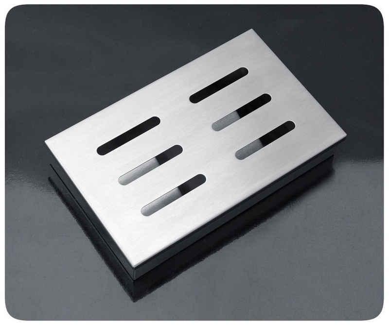 PRECORN Räucherbox »Räucherbox aus rostfreiem Edelstahl für Gas- und Holzkohlegrill Smokerbox Smoker Grillzubehör«