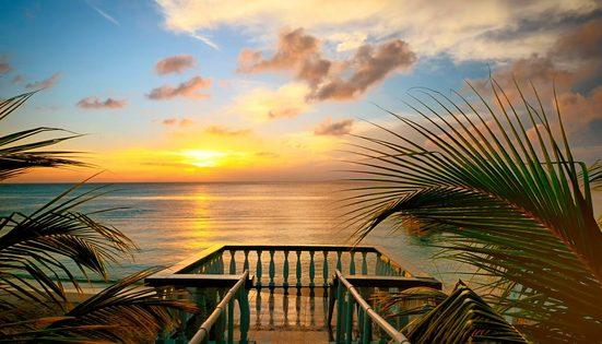 Fototapete »Terrace View«, glatt