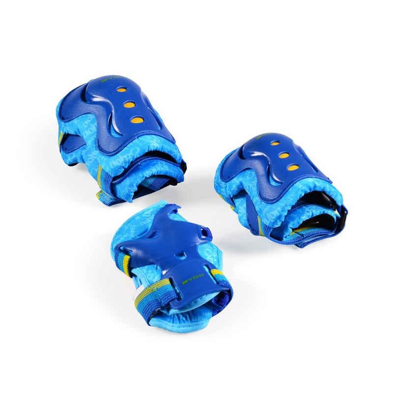 Byox Kinder-Schutzausrüstung »Schutzausrüstung Simon Größe S«, bis 25 kg, Knie- Ellenbogen- Handgelenkschoner