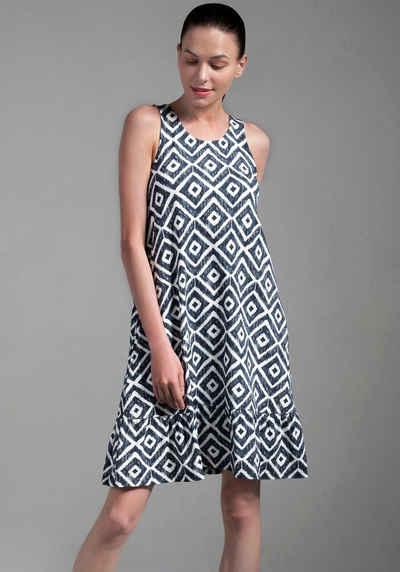 Ocean Sportswear Jerseykleid »aus weicher Viskose-Mix-Qualität« mit Volant am Saum