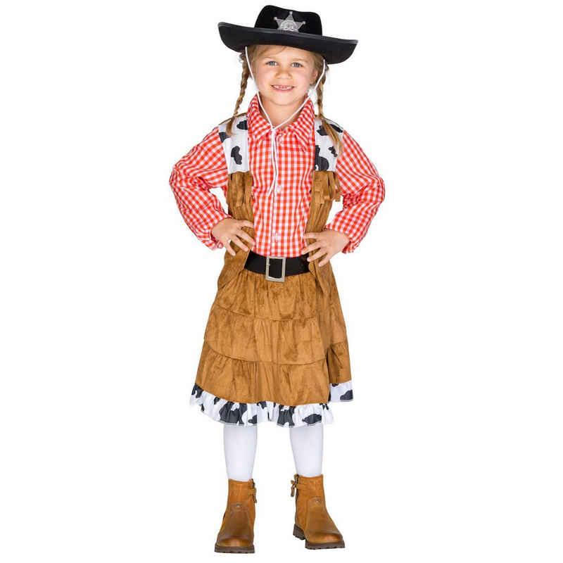 dressforfun Cowboy-Kostüm »Mädchenkostüm Cowgirl Texas«