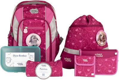 SCHOOL-MOOD® Schulrucksack »Loop Air+, Hannah« (Set), aus recyceltem Material