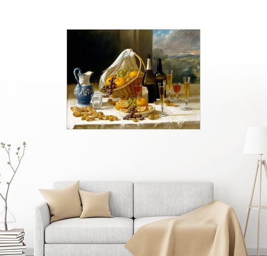 Posterlounge Wandbild, Mittagessen Stillleben