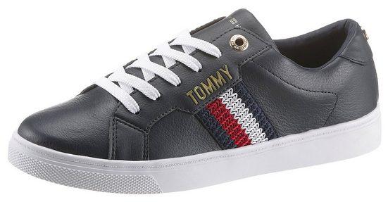 TOMMY HILFIGER »TOMMY HILFIGER LACE UP SNEAKER« Sneaker mit Tommy-Applikation
