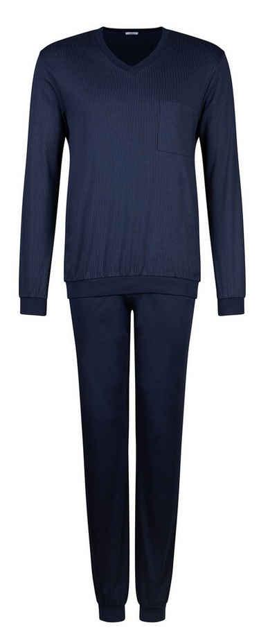 HUBER Pyjama Interlock-Qualität