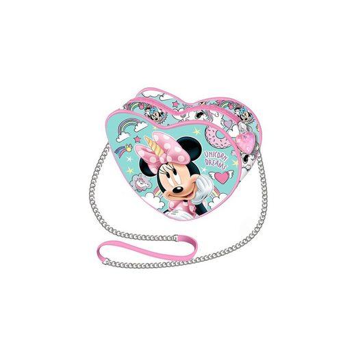Umhängetasche Herz Minnie Mouse Unicorn Dreams
