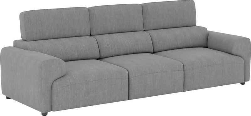 Home affaire 4-Sitzer »Paul«, 1 Teile, Sitzflächen adaptiv verstellbar, verstellbare Kopfstützen, hohe Rückenlehne