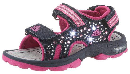 Lico »Blinkschuh Spotlight« Sandale mit cooler Blickfunktion