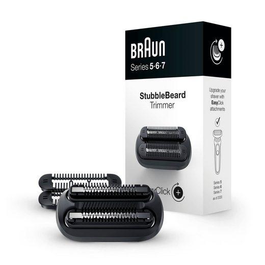 Braun Aufsatz Stubbler, 4 verschiedene Längen einstellbar