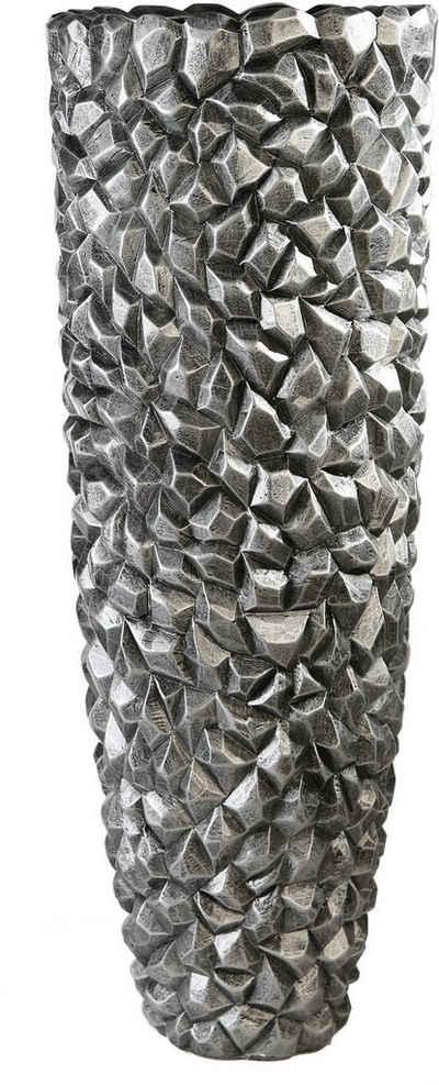 Casablanca by Gilde Pflanzkübel »Pflanzkübel Gravity, graphit« (1 Stück), Blumenkübel, Pflanzübertopf, Blumentopf, aus Fiberglas, in 2 Größen erhältlich, Wohnzimmer