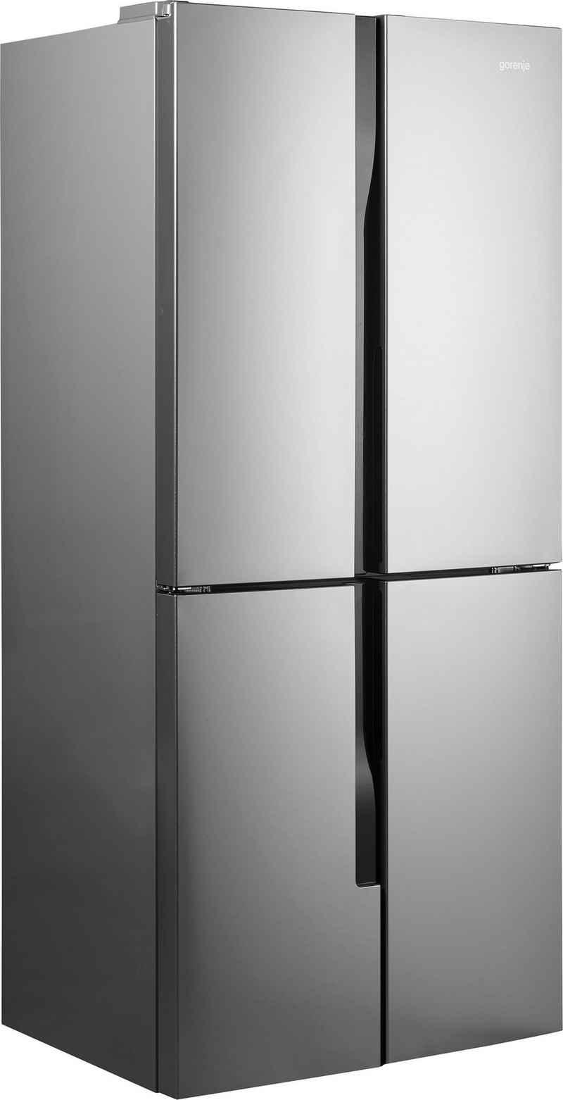 GORENJE Multi Door NRM8182MX, 181,6 cm hoch, 79,4 cm breit