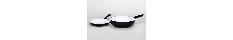 Krüger Pfannen-Set, Aluminium mit Keramikbeschichtung, »Riga« (2tlg.)