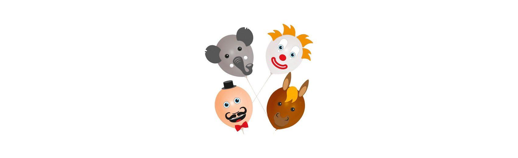 Luftballons Circus, 4-tlg.