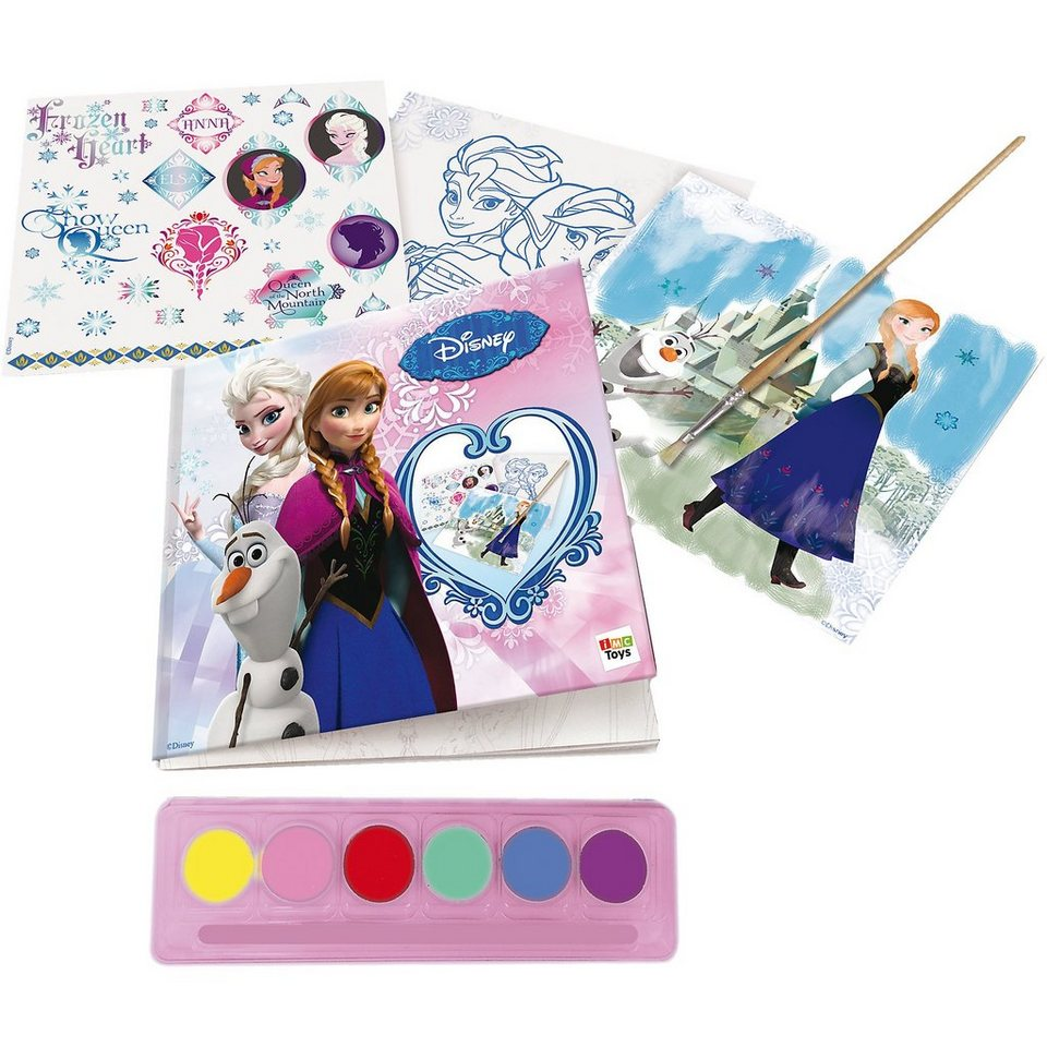 IMC Toys Die Eiskönigin Wasserfarben Malset