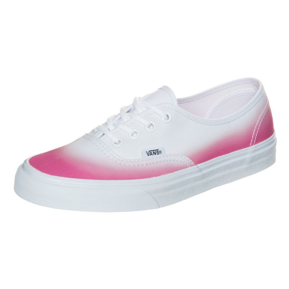 VANS Authentic Sneaker Damen in pink / weiß