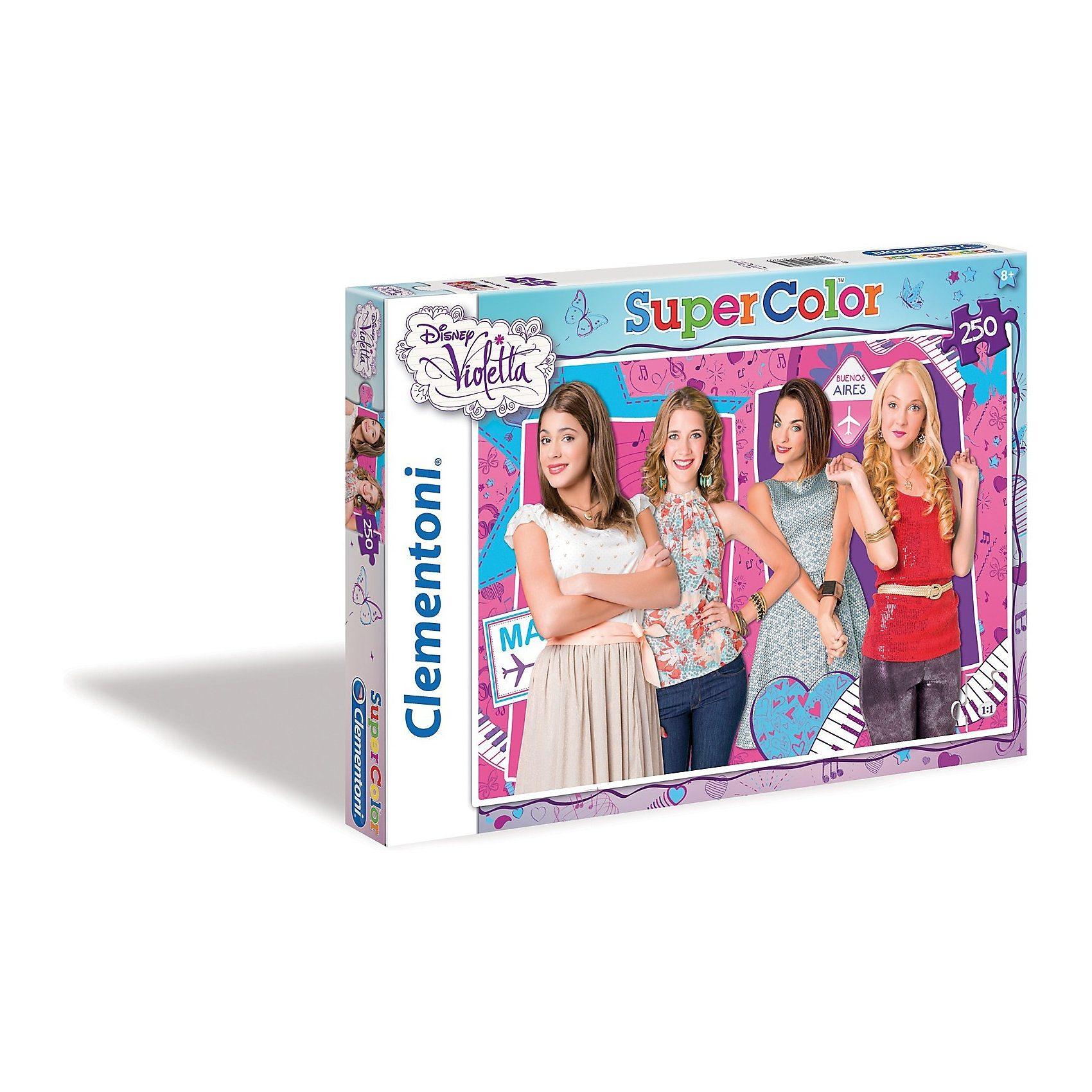 Clementoni Puzzle - 250 Teile - Violetta