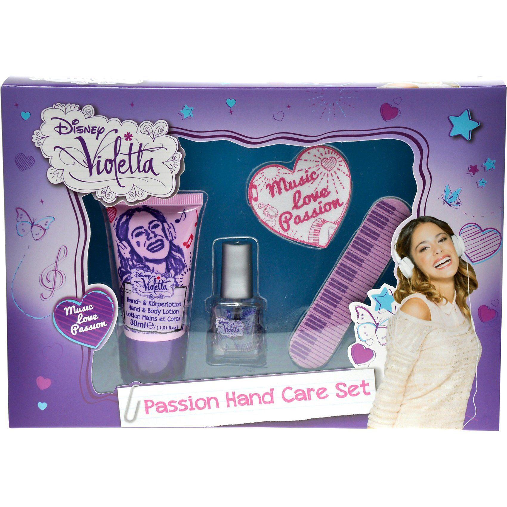 Handpflegeset, Violetta , 4-tlg.
