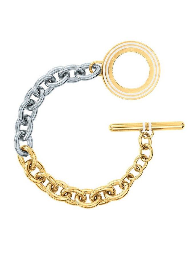 Tommy Hilfiger Jewelry Edelstahlarmband, »Classic Signature, 2700611« in silberfarben/goldfarben