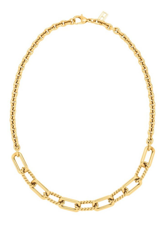 Tommy Hilfiger Jewelry Edelstahlkette, »Classic Signature, 2700667« in goldfarben