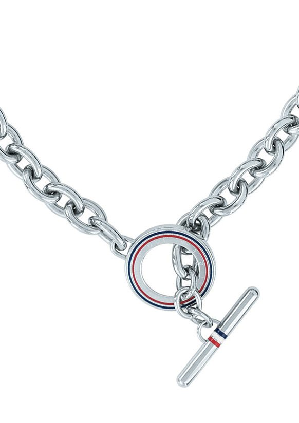 Tommy Hilfiger Jewelry Edelstahlkette, »Classic Signature, 2700631« in silberfarben