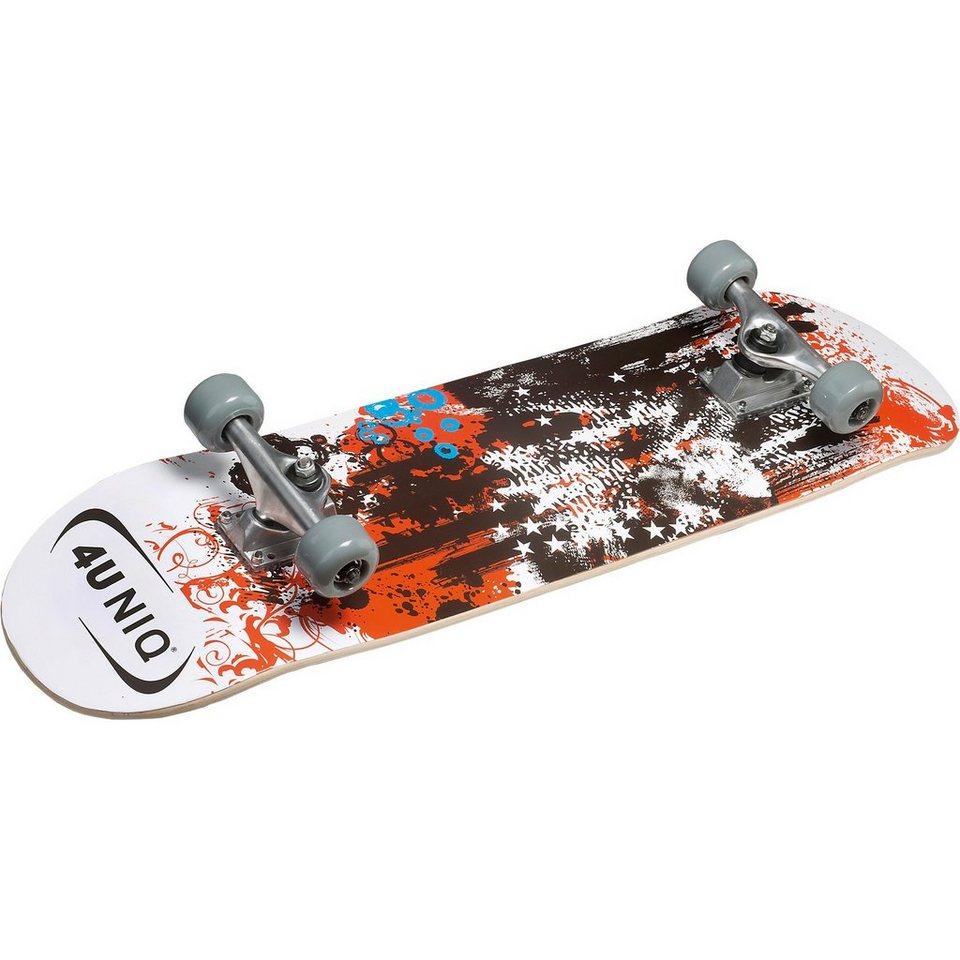 4UNIQ Skateboard ABEC 5 in gemustert