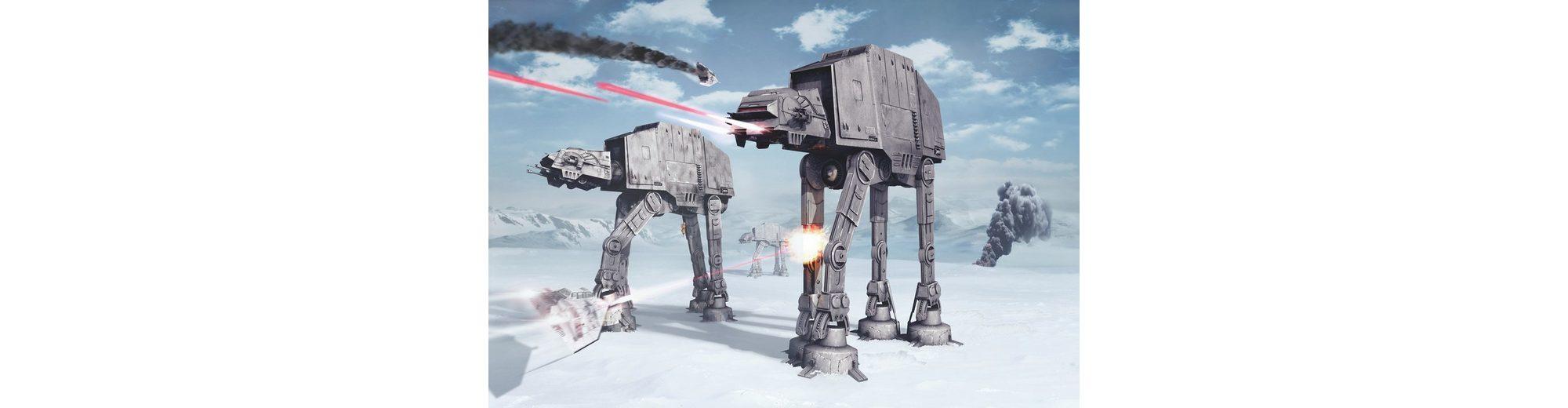 Papiertapete, Komar, »Star Wars Battle of Hoth«, 368/254 cm