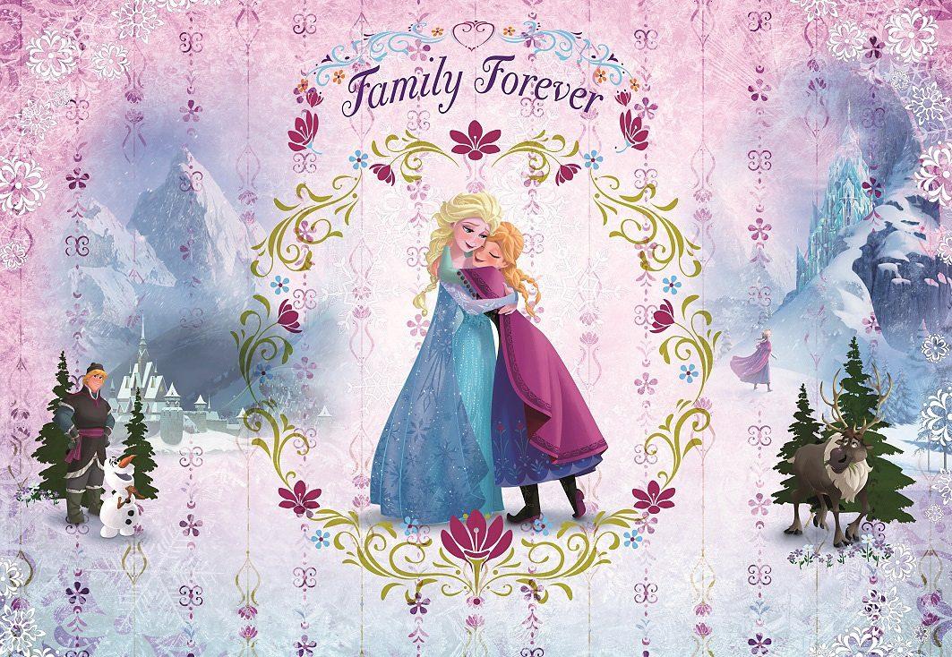 Papiertapete, Komar, »Frozen Family Forever«, 368/254 cm