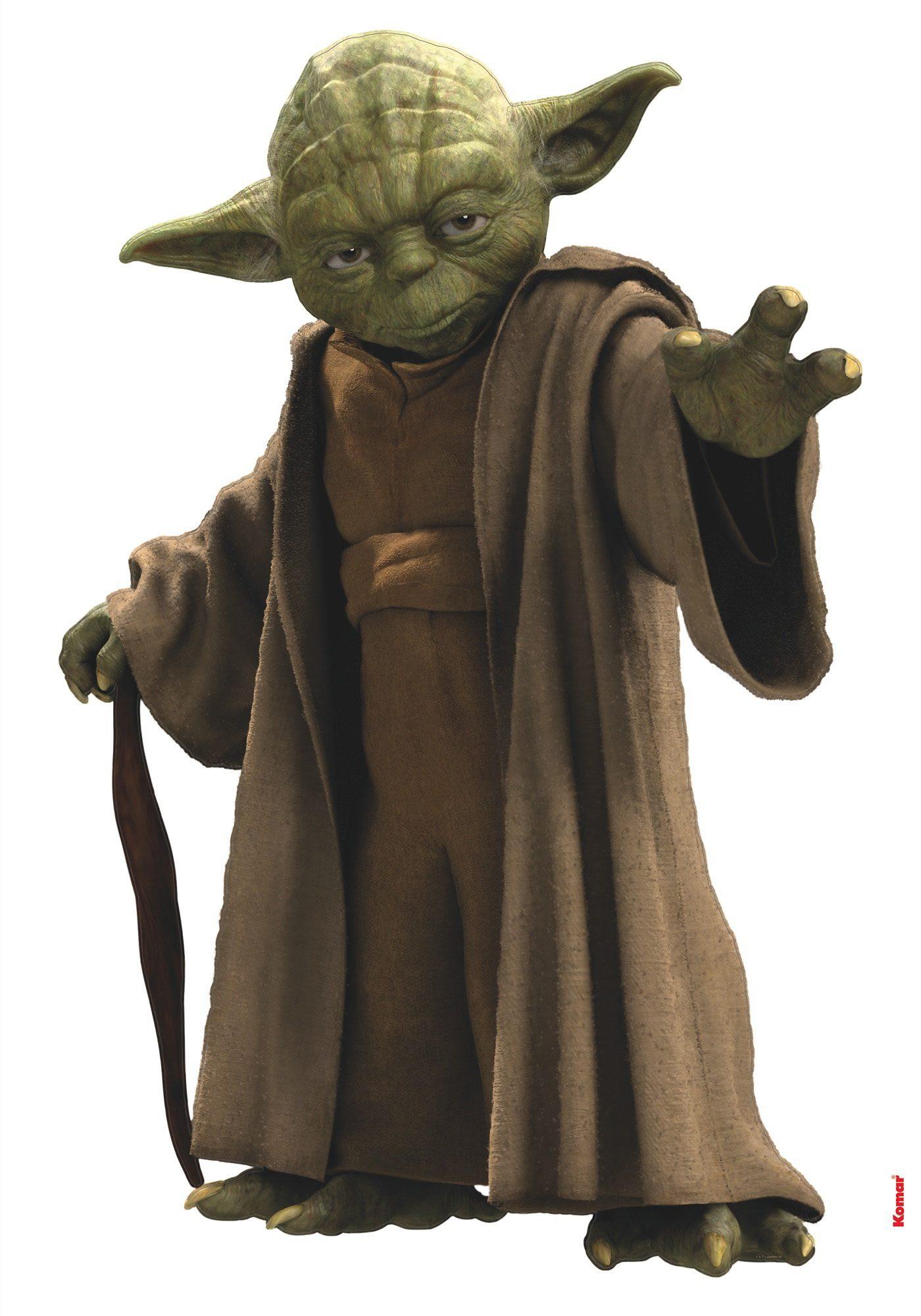 Wandsticker, Komar, »Star Wars Yoda«, 70/100 cm