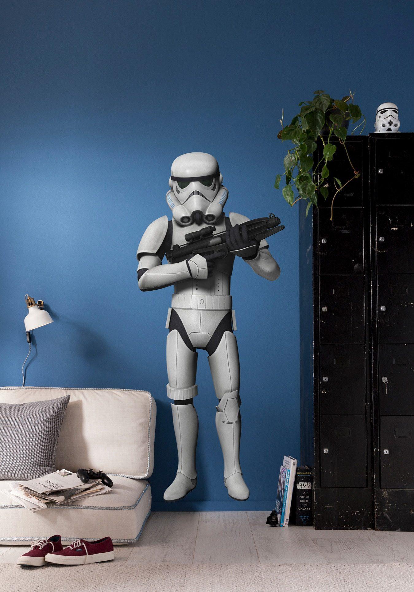 Wandsticker, Komar, »Star Wars Stormtrooper«, 70/100 cm