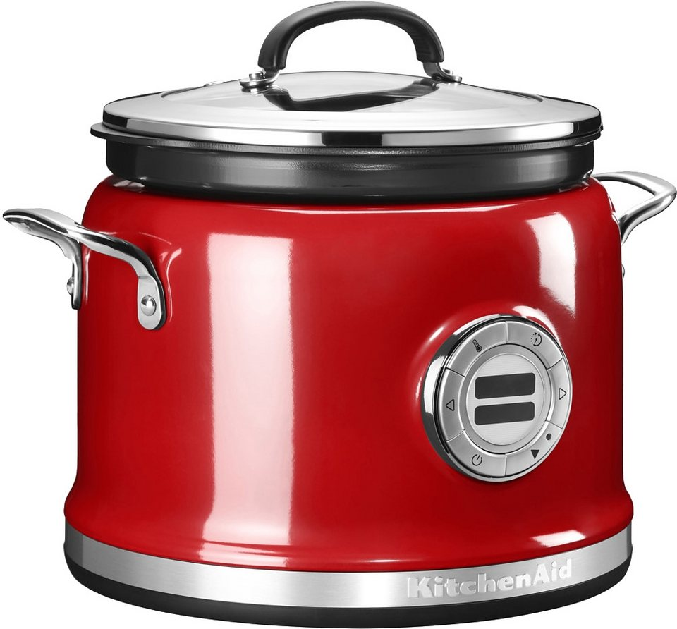 KitchenAid Multi-Cooker 5KMC4241EER, 4,25 Liter, 700 Watt in rot