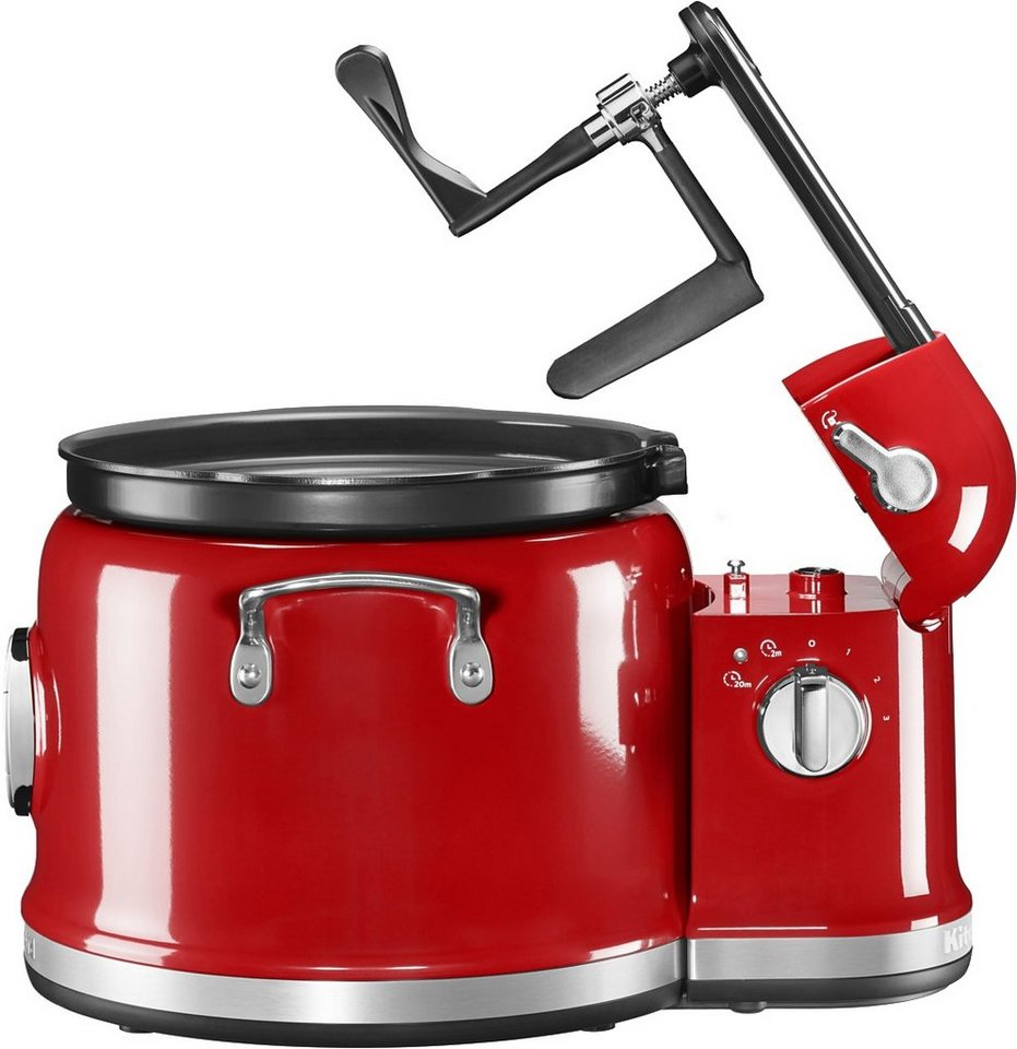 KitchenAid Multi-Cooker mit Rührturm 5KMC4244EER, 4,25 Liter, 750 Watt in rot