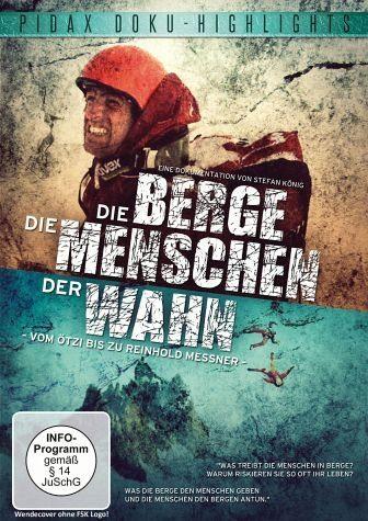 DVD »Die Berge, die Menschen, der Wahn«