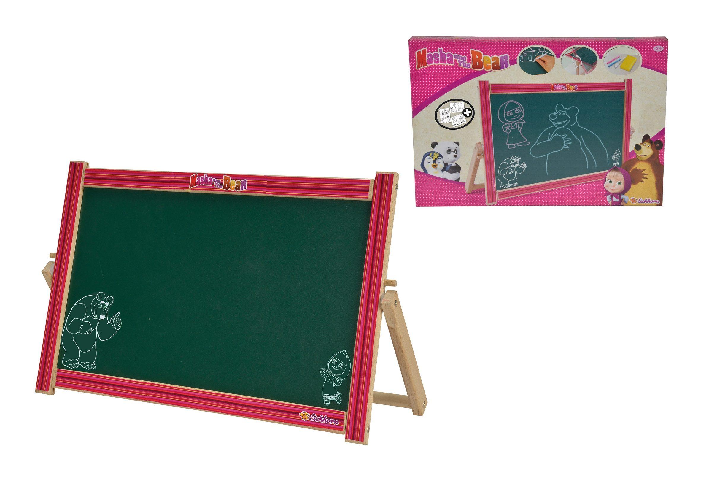 Eichhorn Tafel mit Magnetfunktion, »Masha und der Bär - Tisch-Drehtafel«