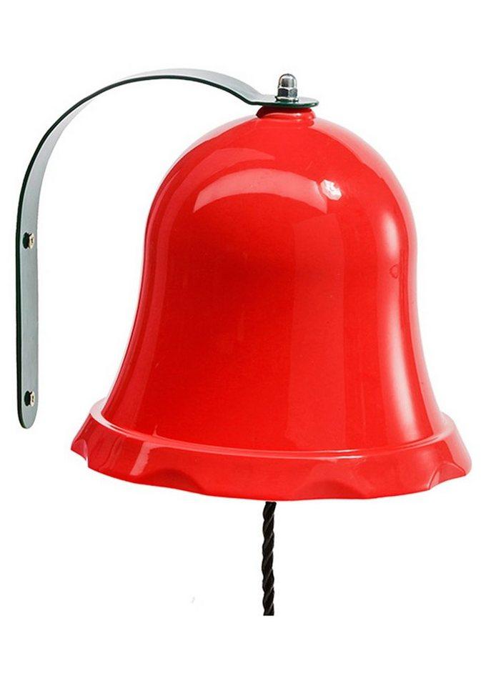 Woodinis-Spielplatz Spielturm Zusatz, »Metallglocke für Kinder« in rot