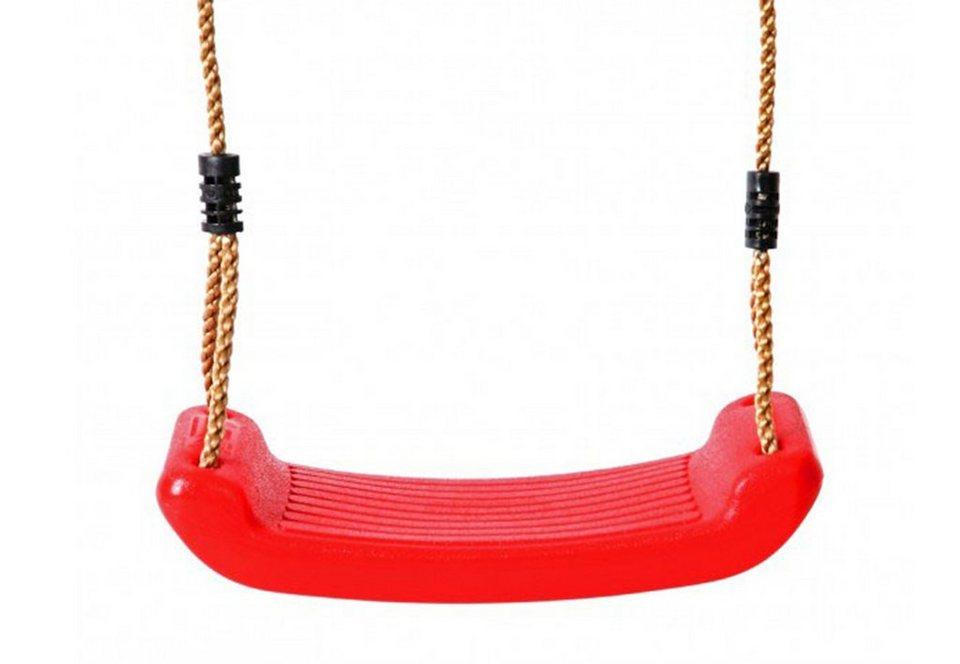 Woodinis-Spielplatz Schaukelsitz, »Schaukelsitz rot« in rot