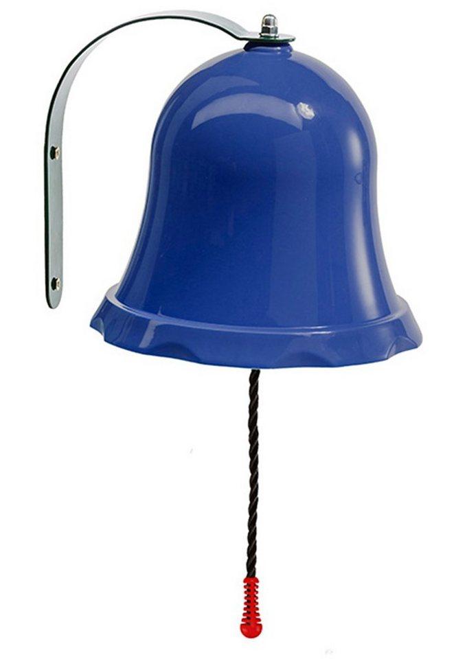 Woodinis-Spielplatz Spielturm Zusatz, »Metallglocke für Kinder« in blau