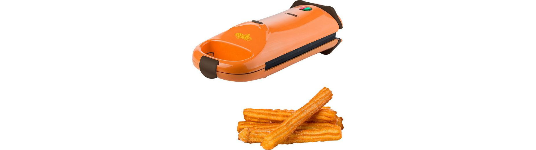 Princess Waffeleisen Churros Cake Maker, 640-760 Watt