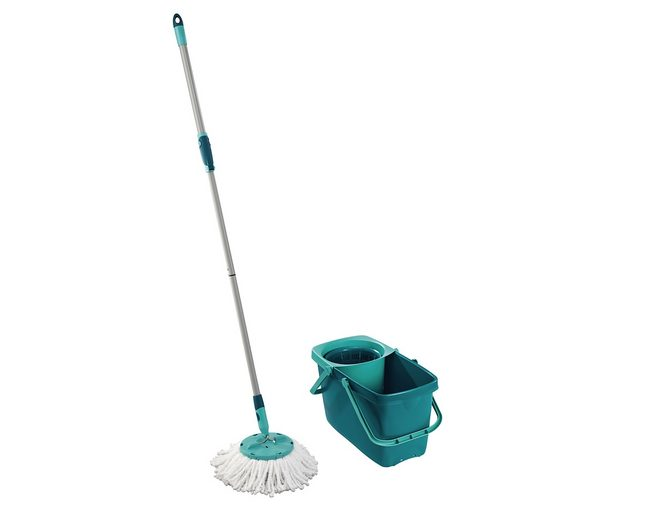 Bodenwischer-Set »Clean Twist Mop«, mit Rollwagen