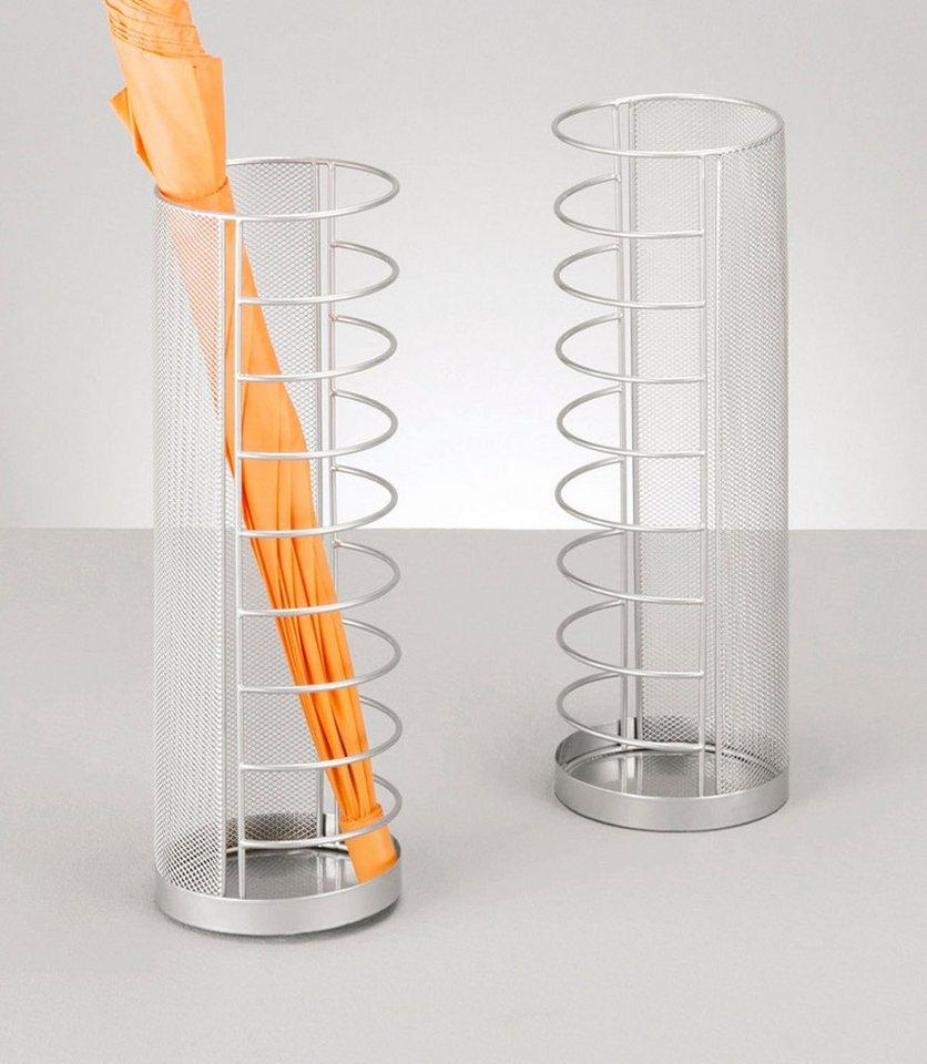 Schirmständer »Mesh«, Höhe 40,5 cm in silber