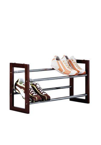 ZELLER PRESENT Atvira batų lentyna »Chrom / Braun« il...