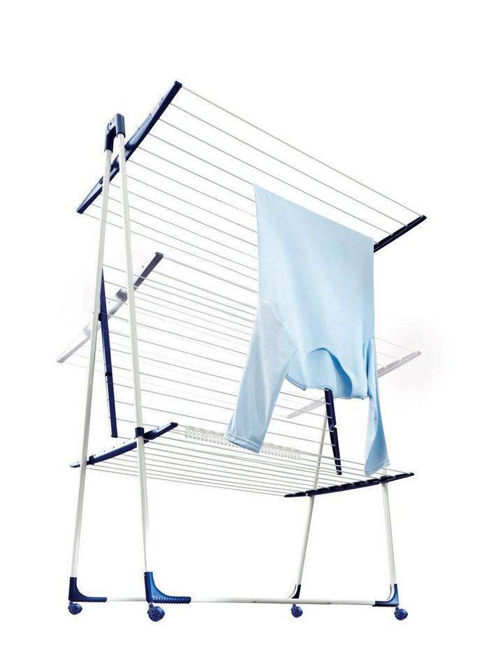 Standwäschetrockner »Tower 300 Deluxe VS« in blau, weiß