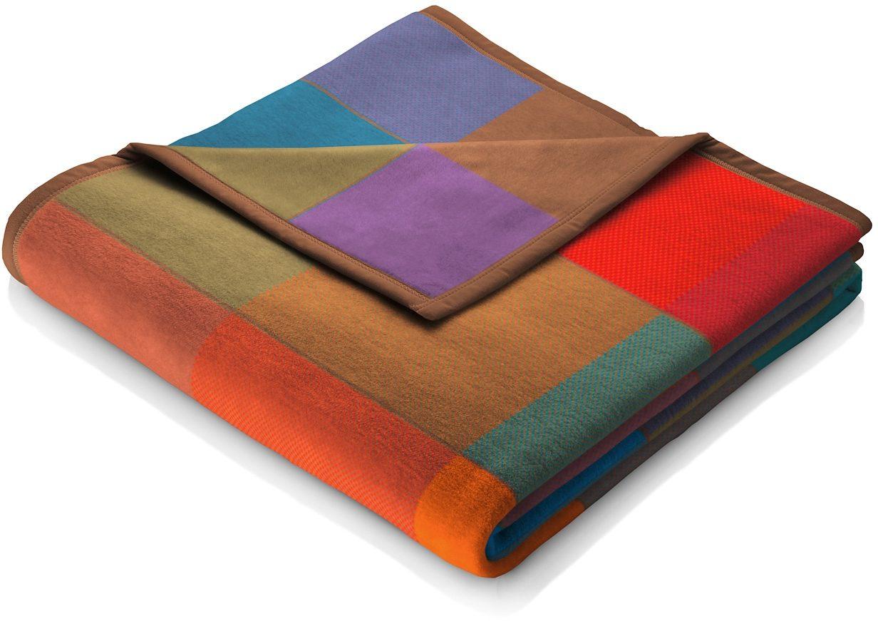 Wohndecke, Biederlack, »Colormix«, große Karos