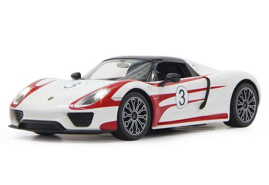Jamara RC-Auto »Porsche 918 Spyder Race weiß«