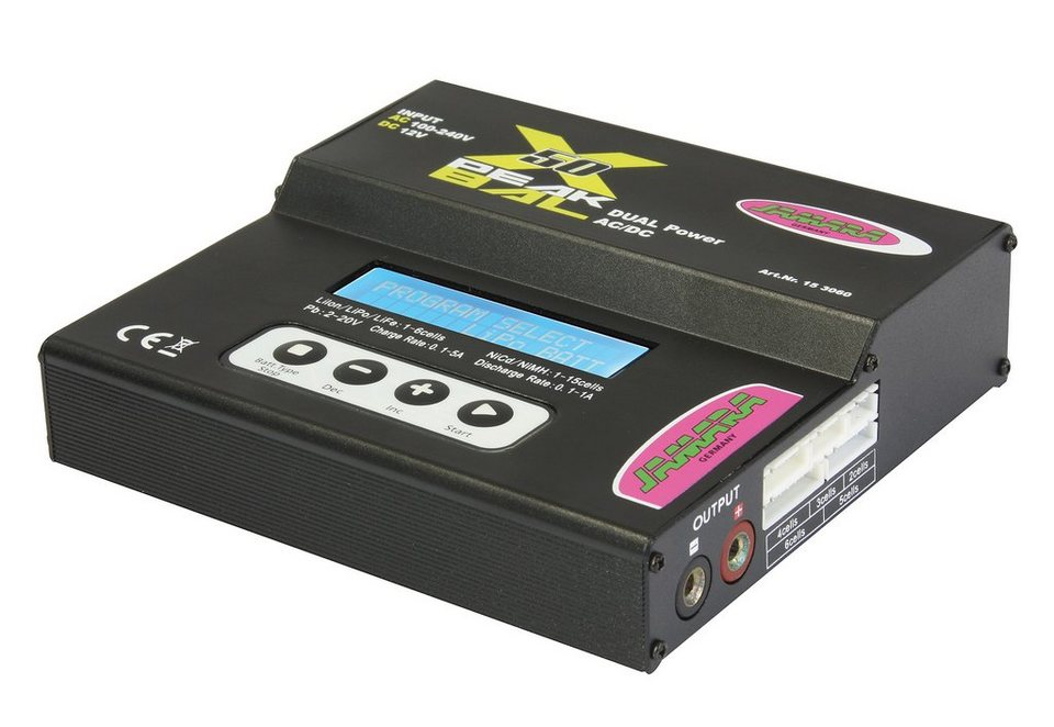 JAMARA RC-Ladegerät, » X-Peak 50 Bal Edition« in schwarz