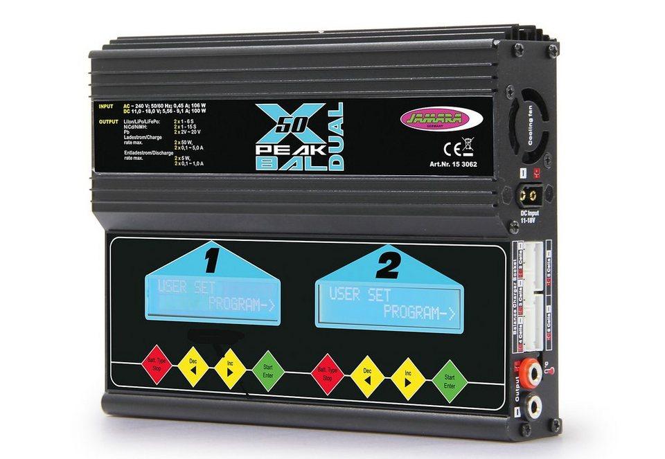 JAMARA RC-Ladegerät, »X-Peak 50 Dual Bal Edition« in schwarz